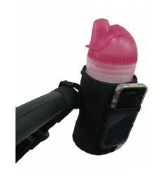 Uchwyt z wkładem izotermicznym na butelkę do wózka KEES