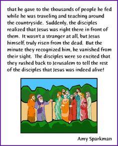 Walk to Emmaus (Jesus Resurrection Story) - Kids Korner - BibleWise
