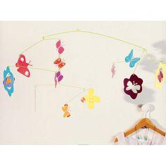 Djeco Babymobile Schmetterlinge aus der Kollektion little BIG room - Bonuspunkte sammeln, auf Rechnung bestellen, Blitzlieferung per DHL