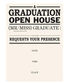 10 Great Graduation Party Invitations