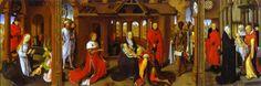 Adoración de los reyes. Hans Memling. José Armando Flores Vázquez