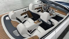 This Teak-Clad Rolls-Royce Dawn Is Fully Customized to Resemble a Yacht | Automobiles