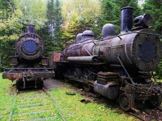 Abandoned steam engines in Maine  #abandoned #steam #engines #maine