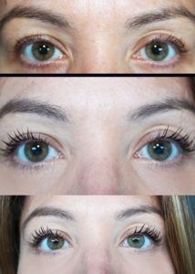 Before, One Coat, Two coats of Benefit Cosmetics They're Real! Mascara | Beauty Chaos