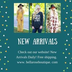 www.bellaroseboutique.com free shipping ladies 😊