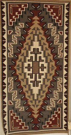 Native American Navajo Two Grey Hills by CulturalPatina on Etsy