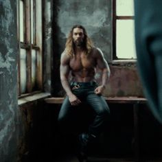"""dailydcfilms: """"Jason Momoa behind the scenes of Justice League (2017) """""""