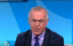 """Columnist David Brooks is the house """"conservative"""" of the New York Times which means he is currently busy consoling his fellow liberals over Donald Trump's election victory. Brooks, in his column today titled """"The View From Trump Tower"""" but which could more accurately be labeled """"The View From Ivory Tower,"""" describes texting people """"off the ledge."""" Ironically it is Brooks himself who leaps off that ledge at the end of his column due to his extreme Trump Derangement Syndrome."""