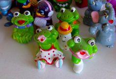 Je collectionne également les surprises Kinder héhé ^_^