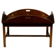 $1775 love this.....Check out this item at One Kings Lane! English Butler's Tray Coffee Table