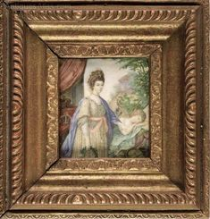 Antiques Atlas - Miniature - Watercolour On Ivory Watercolour Paintings, Watercolor, Portrait, Ivory, Miniatures, Fine Art, Antiques, Frame, Pen And Wash