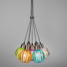 Pendant Light Shine 7 multicolor - Pendant lamps - Indoor lighting - lampandlight.co.uk