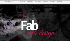 Featured site of the day : 31-May-2012  Fab Web Design http://www.cssvilla.com/fab-web-design/