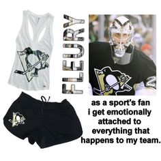 Pens PJs by kailey-nicole on Polyvore featuring Marc, pajamas, pjs, hockey, penguins and pittsburghpenguins