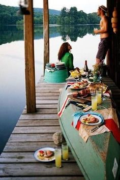 fantasy to having romantic afternoon drink by the lake with the one you love