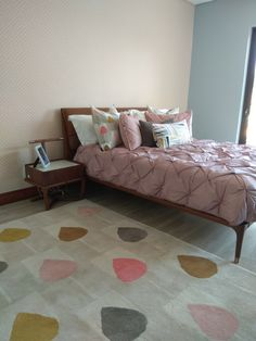Soft Furnishings, Girls Bedroom, Rugs, Interior, Furniture, Ideas, Home Decor, Farmhouse Rugs, Decoration Home