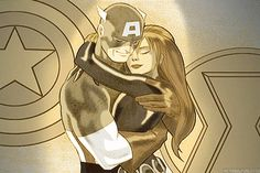 Apparently [Marvel] in Avengers age of Ultron they forgot this. [Marvel] why make a couple they don't ever intend to use! Same thing with Blackwidow and Hawkeye! Next Avengers, Marvel Avengers, Marvel Comics, Steve Rogers Bucky Barnes, Goodness Sake, Marvel Fan Art, Romanogers, Super Soldier, Marvel Series