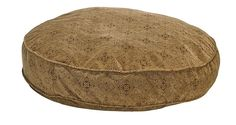 Bowsers Super Soft Round Dog Bed - Pecan Filigree
