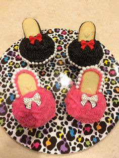 Mother's Day Heel cupcakes