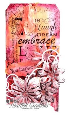 Heartfelt Creations | You Inspire Me Tag