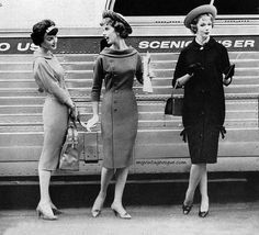 1958. Kind of obsessed with 50's fashion.