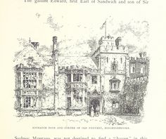 Image taken from page 79 of 'Glimpses of Old English Homes ... With ... illustrations' | by The British Library