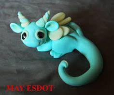 Afbeeldingsresultaat voor dragon polymer clay