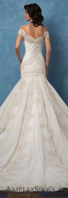 Amelia Sposa 2017 Wedding Dresses | Deer Pearl Flowers