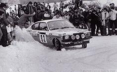 R.Chianea - Jean Chianea Opel Kadett GT/E. Abandonó Montecarlo 1980