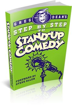 Available for the First Time  $40 DISCOUNT - Joke Writing Made Simple - Online Course  From, Greg Dean, author of Step by Step to Stand-Up Comedy