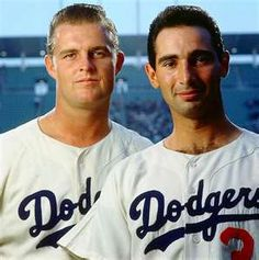 Don Drysdale and Sandy Koufax~