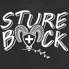 Schweiz T-SHIRTS Schweizerdeutsch Sture Bock! T-Shirt