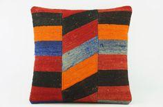 Kilim  pillow case 16,  throw  cushion, ethnic decor,  Mediterranean  decor,  2201