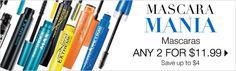 Avon Makeup Sale Campaign 19 - http://www.makeupmarketingonline.com/avon-offers-pick-vip-online-promo/ #mascara #makeup #sale
