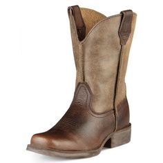 """""""Ariat Kid's Boy's Rambler Cowboy Western Boots Earth Brown Bomber"""" 10007602   eBay. Perfect for little cowboys!"""