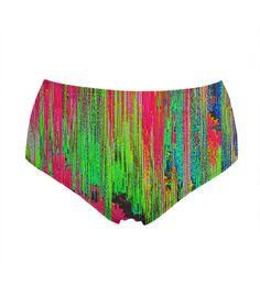 e37f337f19110 Drying Paint high-waisted bikini bottom