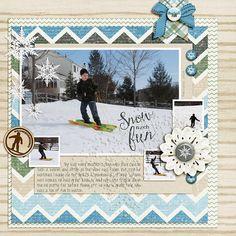 Snow Much Fun Kit: Wintertime Adventures by Anita Designs