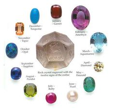 Gregorian Birthstone Poems