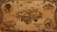 flat earth | Flat Earth Theory Map by AyeRun123 on DeviantArt