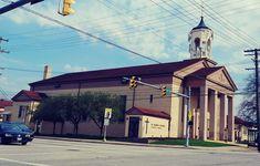 Parma, Childhood Memories, Ohio, Saints, Mansions, Usa, House Styles, Columbus Ohio, Manor Houses
