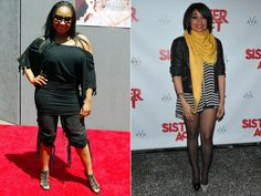 Dramatic Celebrity Weight Loss. Raven Symone Supplements For Women, Weight Loss Supplements, Fit Black Women, Beautiful Black Women, Weight Loss Challenge, Weight Loss Plans, Lose Weight At Home, How To Lose Weight Fast, Weight Loss Photos