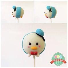 popngocakepops donald tsum tsum cake pop