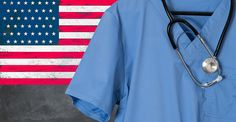 Blue scrubs with USA flag for healthcare issues Photos Blue doctor scrubs shirt and stethoscope hang empty in front of USA flag. Illustration of healthcare by Backyard Stock Nutrition World, Nutrition Data, Plant Based Nutrition, Vegetable Nutrition, Holistic Nutrition, Plant Based Diet, Health And Wellness, Health Care, Montel Williams