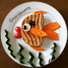 Japon balığının karni acıkmış... Goldfish got hungry.... #kahvaltı #breakfast…