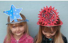 DIY party hats for a smidgen of the cost