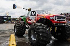 monster trucks - fords