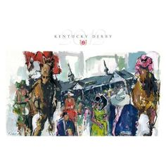 Amazon.com: 2012 Official Kentucky Derby Art Limited Edition Print - Horse Racing Fan Shop Offering: Home & Kitchen