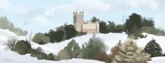 Downton Abbey Painting