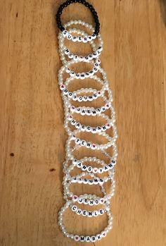 Pony Bead Bracelets, Kids Bracelets, Pony Beads, Cute Jewelry, Diy Jewelry, Beaded Jewelry, Handmade Jewelry, Unique Jewelry, Diy Bracelets Patterns