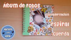 Álbum de Fotos Con Encuadernación En Espiral de Cuerda